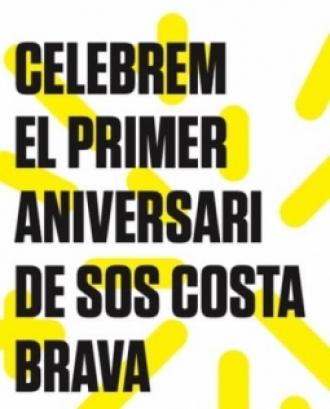 La Plataforma SOS Costa Brava celebra el seu primer aniversari amb una festa popular a Rupià el diumenge 4 d'agost