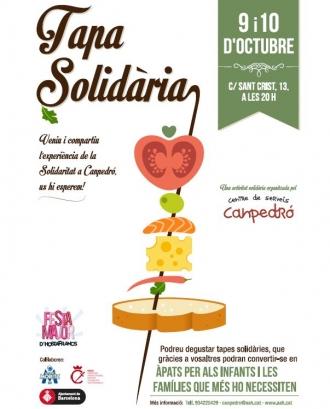 Cartell Tapa Solidària