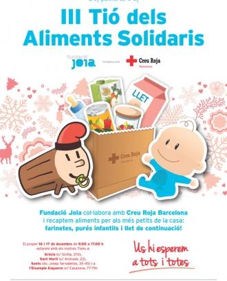 III Tió dels Aliments Solidaris