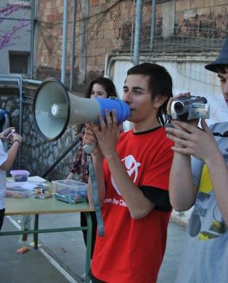 Activitat de promoció de la participació dels infants- GJ Barcelona. Save the Children Joventut Font: