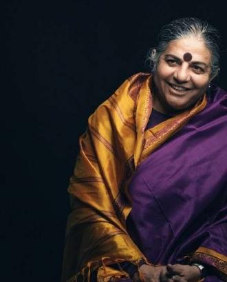 """Conferència de Vandana Shiva : """" Qui alimenta realment el món"""""""