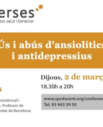 Converses: Ús i abús d'ansiolítics i antidepressius