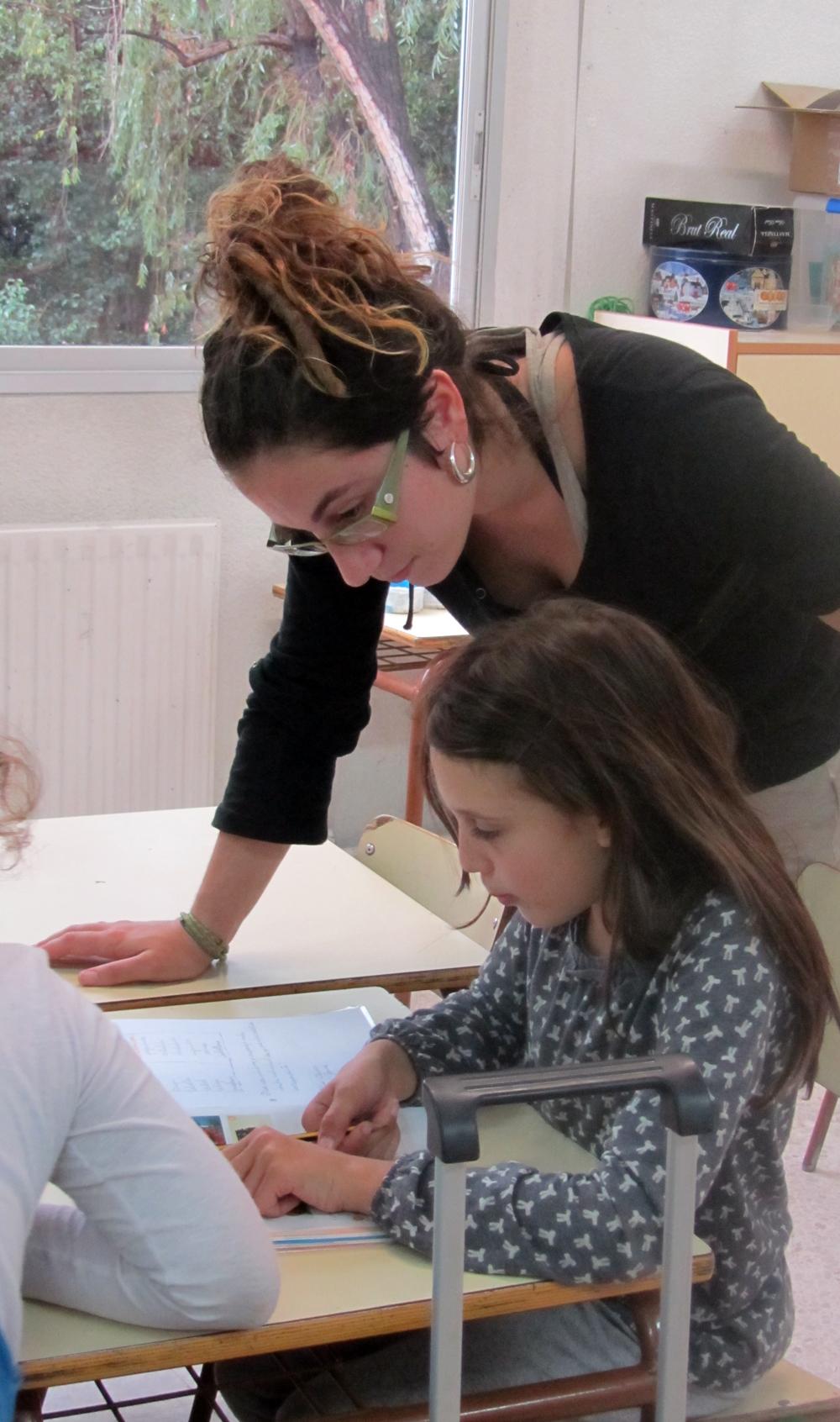 Taller CROMA a l'escola Xarau (Cerdanyola del Vallès). Font: FAS