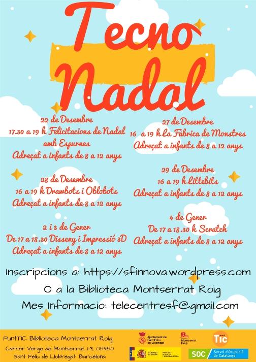 el Cartel de la Tecno Nadal de Sant Feliu de Llobregat