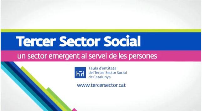 Portada de Tercer Sector Social. Una força emergent a Catalunya