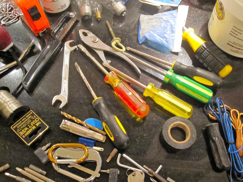 Tools. Font: Shareski (Flickr)