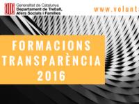 Imatge de la notícia 148 entitats van participar a les formacions en transparència durant el 2016