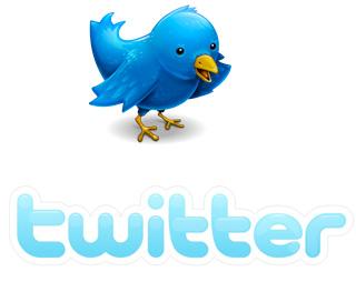 Logo de Twitter Font: