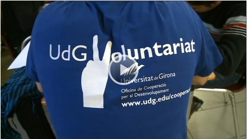 El vídeo de la quinzena: El voluntariat a la UdG