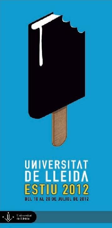 Cartell promocional Universitat d'Estiu de la Universitat de Lleida