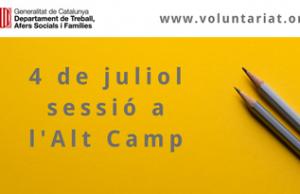 Imatge de la notícia 4 de juliol sessió territorial de la DGACC a Valls (Alt Camp)