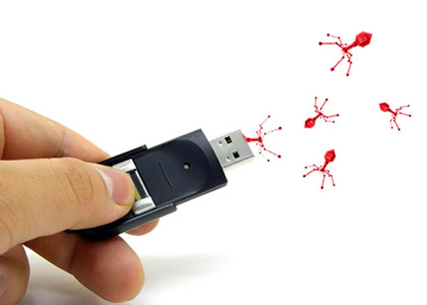 Hi ha moltes maneres de transmetre els virus informàtics