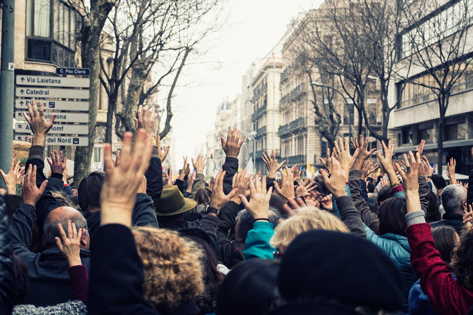 Volem acollir. Font: Ajuntament Barcelona (Flickr) Font:
