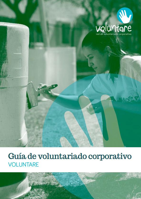 Portada de Guía de voluntariado corporativo