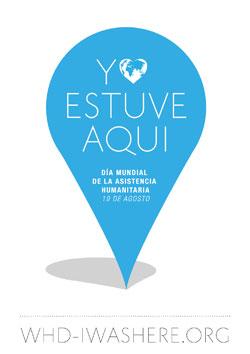 El logotip de la Campanya d'enguany del Dia Mundial d'Ajut Humanitari