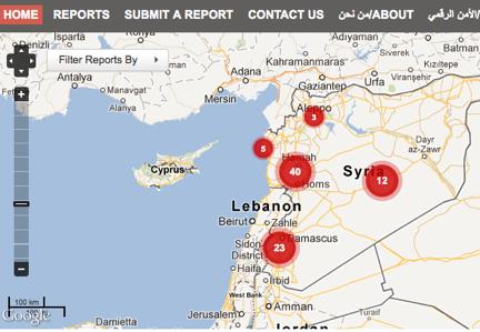 Mapa de les agressions sexuals denunciada a